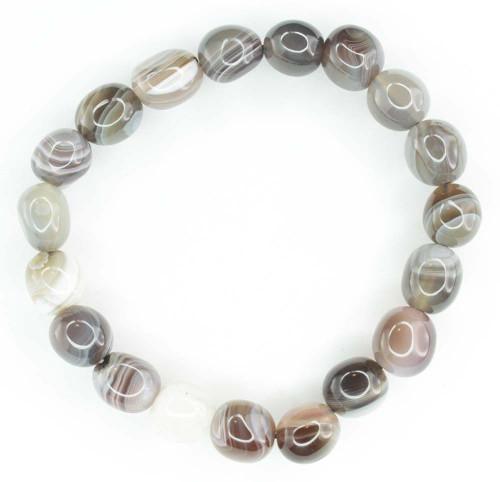 Botswana Agate Pebble Bracelet 2