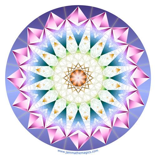 Jain 108 Venus Decal & Sticker