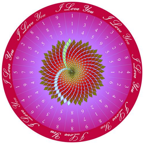 Jain 108 I Love You Decal & Sticker