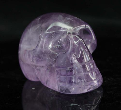Amethyst Skull 6
