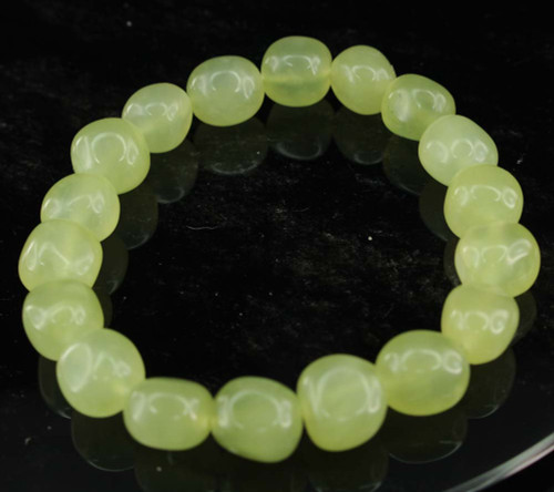 New Jade Pebble Bracelet