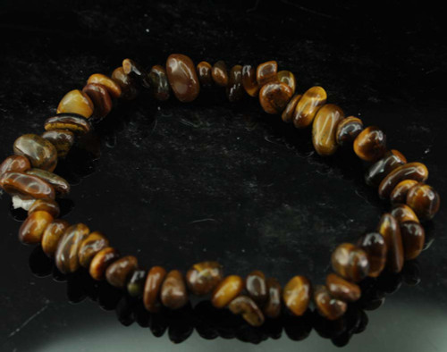 Tiger Eye Chip Bracelet 6