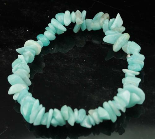 Amazonite Chip Bracelet 9