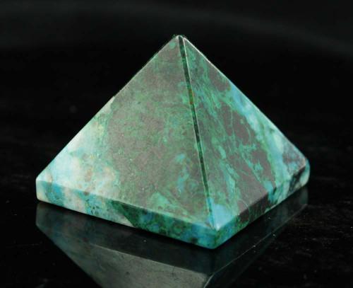Chrysocolla Pyramid 6