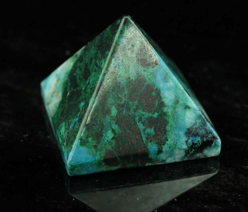 Chrysocolla Pyramid 7