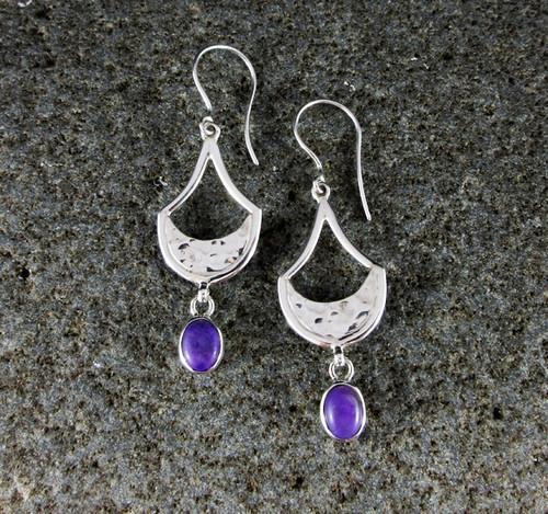 Sugilite Earrings 2