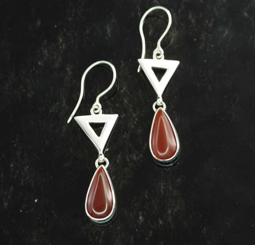 Carnelian Earrings 3