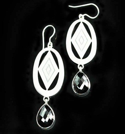 Spinel Faceted Earrings 2