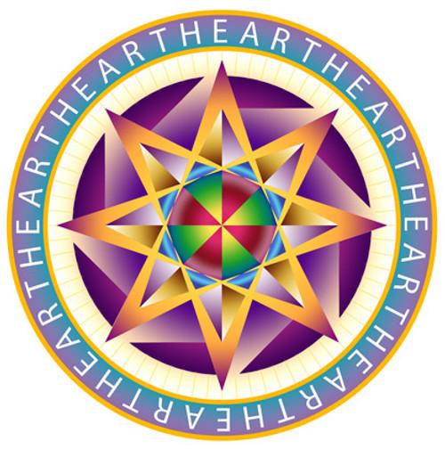 Jain 108 Heart Star Decal & Sticker 2