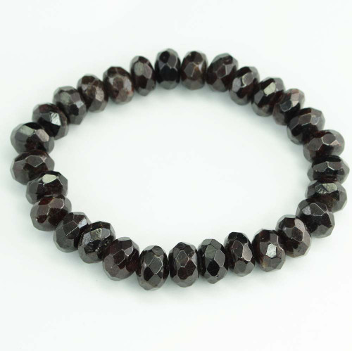 Garnet Faceted Bracelet 5