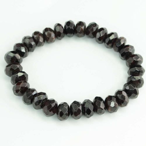 Garnet Faceted Bracelet 5