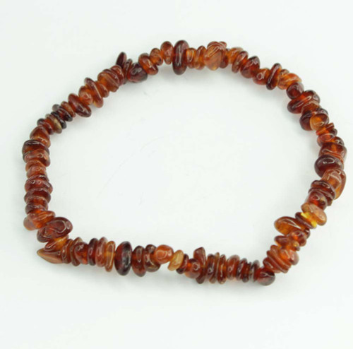 Hessonite Garnet Chip Bracelet 1