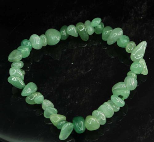 Green Aventurine Chip Bracelet 3