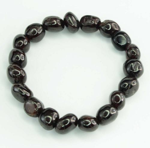 Garnet Pebble Bracelet 10