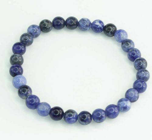 Sodalite Round Bracelet 3