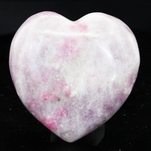 Lepidolite & Pink Tourmaline Heart 2