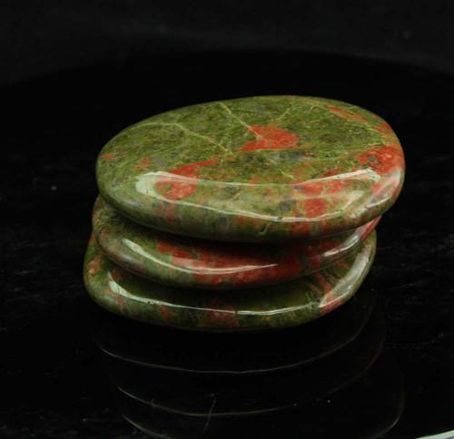 Unakite Flat Stone 1