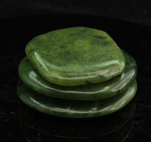 Nephrite Jade Flat Stone 1
