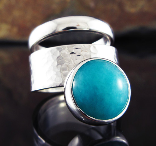 Amazonite Double Ring 6