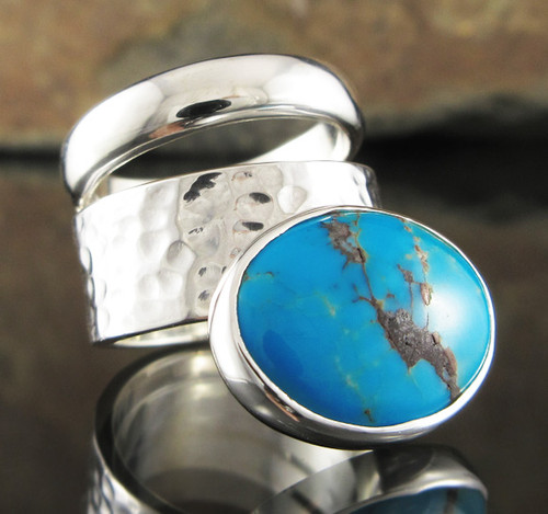 Turquoise Double Ring 23