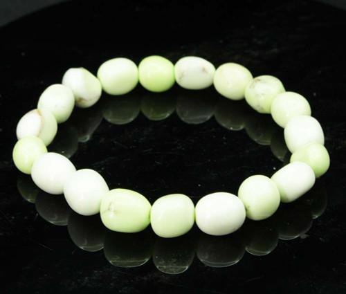 Lemon Chrysoprase Pebble Bracelet 2