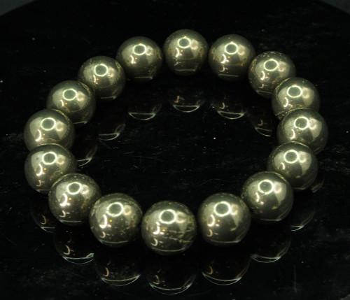Pyrite Rpund Bracelet