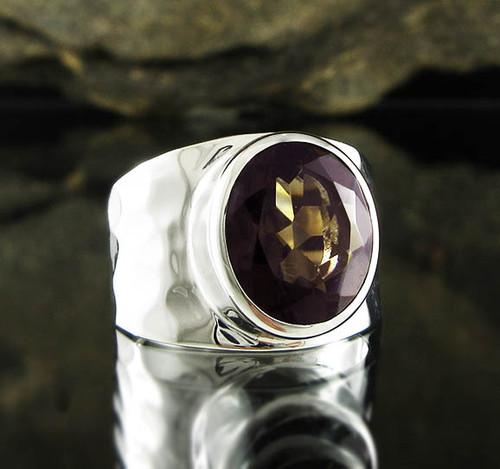 Smoky Quartz Ring 2