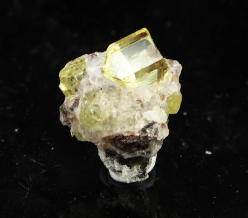 Golden Apatite Crystal 5