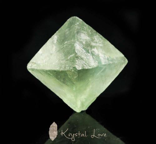Green Fluorite Octahedron 3