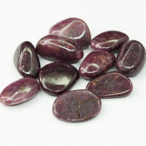 Rubellite Pink Tourmaline Tumbled Stones 3