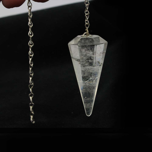 Clear Quartz Pendulum 4