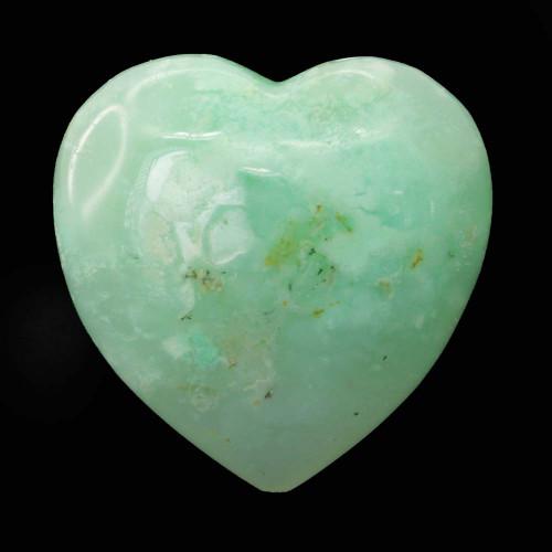 Chrysoprase Heart 6