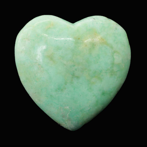 Chrysoprase Heart 7