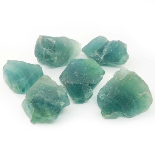 Blue Fluorite Rough Crystal