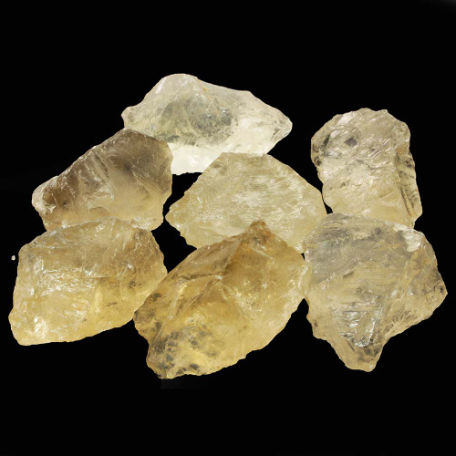 Citrine Natural Rough Stones 3