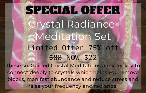 Crystal Radiance Meditation Set