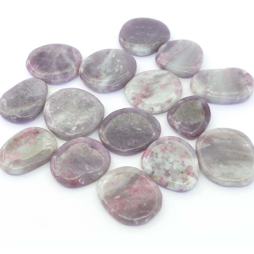 Pink Tourmaline Flat Stone Small