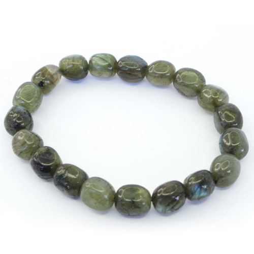 Labradorite Pebble Bracelet 12