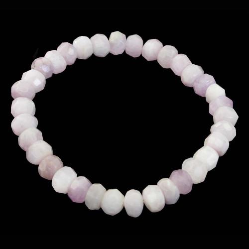 Pink Kunzite Faceted Bracelet 8