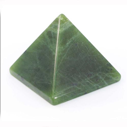 Nephrite Jade Pyramid