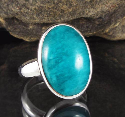 Amazonite Ring 8