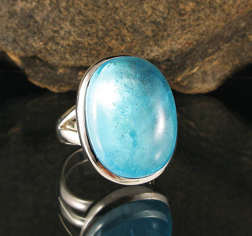 Blue Topaz Ring 4