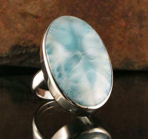 Larimar Ring 14