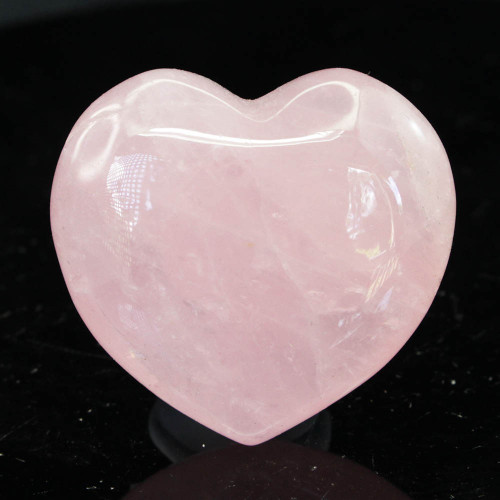 Rose Quartz Heart 44