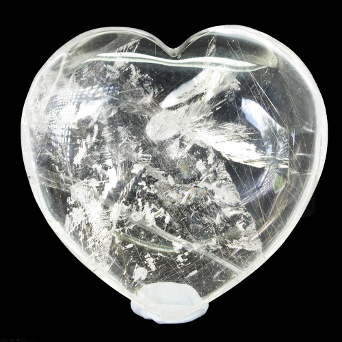 Clear Quartz Heart Large 9