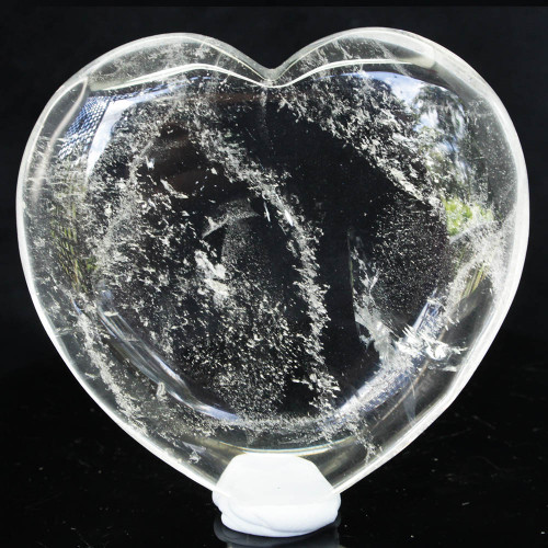 Clear Quartz Heart Large 10