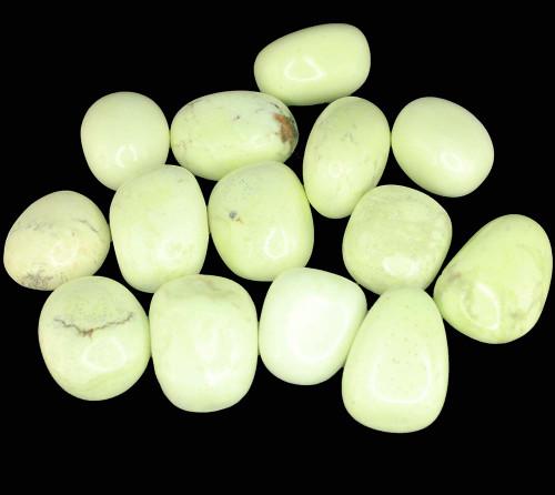 Lemon Chrysoprase Tumbled