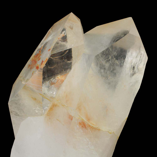 Large Golden Healer Lemurian Twin with Stand 33