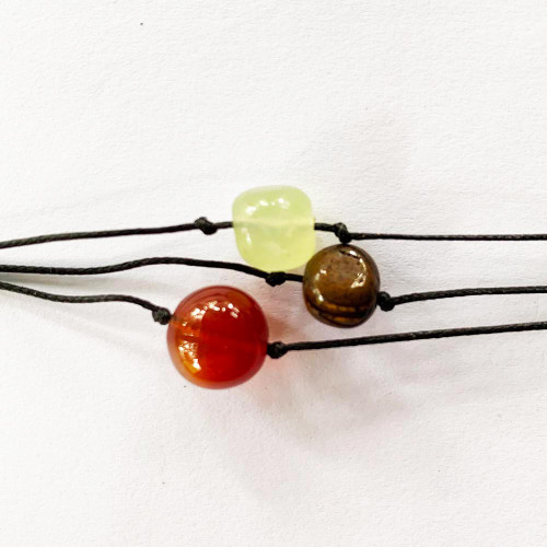 Wish Bracelets Carnelian Tiger Eye Jade FREE SHIPPING