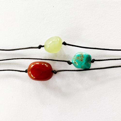 Wish Bracelets Turquoise Carnelian Jade FREE SHIPPING